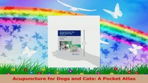Acupuncture for Dogs and Cats A Pocket Atlas Download