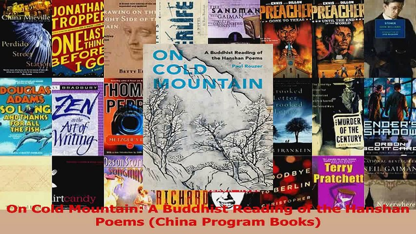 On Cold Mountain A Buddhist Reading Of The Hanshan Poems China Program Books Download