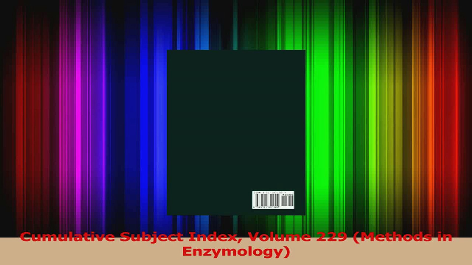 PDF Download  Cumulative Subject Index Volume 229 Methods in Enzymology Download Full Ebook