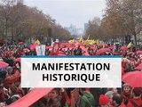 Les écologistes manifestent pour le climat à Paris
