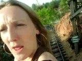 2 folles dans un train fou