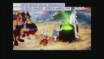 Nuevos mensajes sexuales subliminales en los dibujos animados