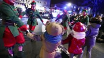 Maubeuge: parade de Noël