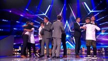 Get in! Isaac Waddington and The Neales get the results | Semi-Final 4 | Britains Got Talent 2015