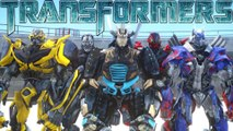 TRANSFORMERS FIGHT - ALL TRANSFORMERS CHARACTERS IN GRAND THEFT AUTO