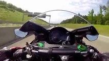 Kawasaki Zx12r Ninja 350KM-H - Crazy Speed - video dailymotion