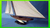 Best buy Handcrafted Nautical Decor  Handcrafted Nautical Decor Fine Sailing Sloop 40 Handcrafted Model Ship Fully Assembled