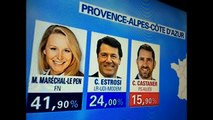 Resultats elections regionales Provence Alpes cote d azur fn en tete