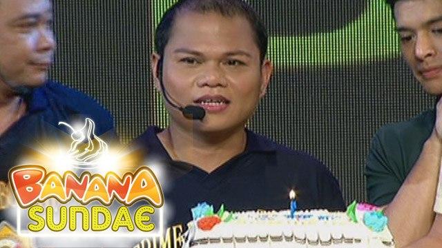 Banana Sundae: Pooh gets a birthday surprise on her birthday