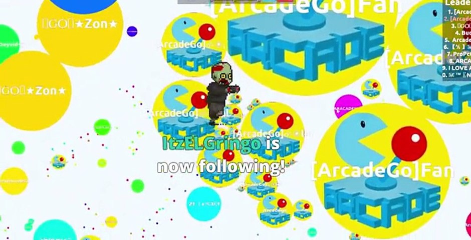 ArcadeGo Army Dominating Agario DESTROYING TEAMS - Agar.io Live Stream