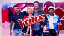 Spin the Microphone w/Blake Shelton, Gwen Stefani, Pharrell Williams & Adam Levine