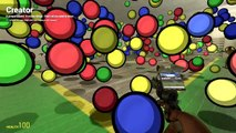 Gmod Matrix - Slow Motion Mod, Hungry Hippos, Dodgeball (Garrys Mod Sandbox Funny Moments