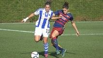 [HIGHLIGHTS] FCB Femení - Lliga: Reial Societat - FC Barcelona (0-3)