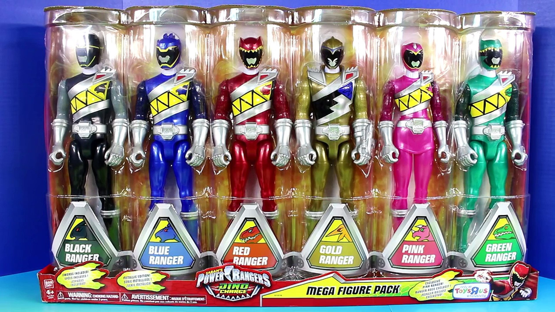 Power Rangers Dino Charge Mega Figure Pack Red Ranger Battles