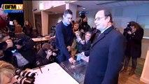 Régionales: François Hollande a voté Tulle