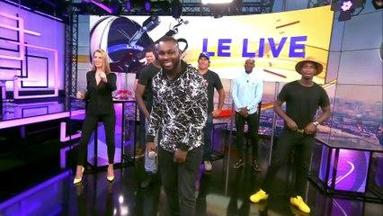 LIVE du chanteur ABOU DEBEING sur beiN Sports dans L'Expresso.