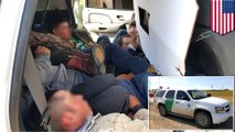 Fake 'US border patrol' SUV busted bringing 12 undocumented migrants into Texas