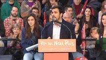 Garzón avisa voto útil piden PP y PSOE es un engaño y consolida la oligarquía