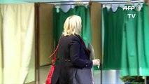 Régionales: vote de Marine Le Pen à Hénin-Beaumont