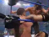Batista & Undertaker vs Mark Henry & The Great khali