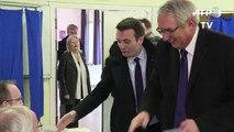 Régionales: vote de Florian Philippot (FN) à Forbach