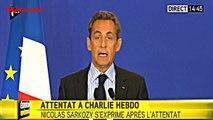Attentat Charlie Hebdo : Réaction de Nicolas Sarkozy