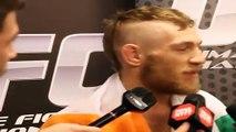 Conor McGregor's Post Fight Interview After his UFC194 Debut Win Vs Jose Aldo
