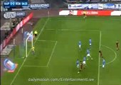 Alessandro Florenzi Fantastic Goal Napoli 0-1 Roma Serie A