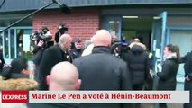 """Marine Le Pen: """"une gigantesque campagne d'insultes développée ces derniers jours par l'UMPS"""""""