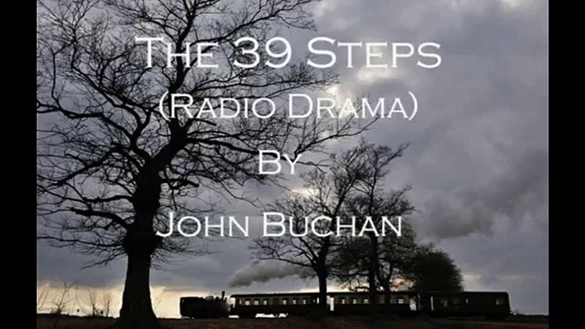 The 39 Steps (Radio Drama) Part 1 Of 2 - Starring David Robb Tom Baker