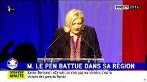 Marine Le Pen arrive en deuxième position dans la région Nord-Pas-de-Calais-Picardie