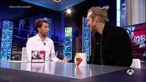 Pablo Motos ayuda a David Guetta a perder el miedo escénico El Hormiguero 3.0