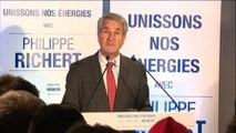 """Régionales - Philippe Richert (LR) remercie les """"élus de gauche et écologistes"""""""