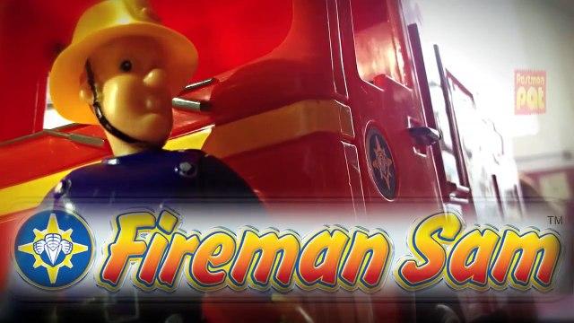 english New Fireman Sam Episode with Toys Postman Pat Peppa Pig English Little Sunflowers