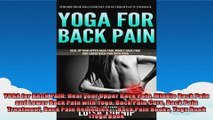 YOGA for BACK PAIN Heal your Upper Back Pain Middle Back Pain and Lower Back Pain with