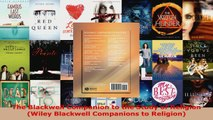 Read  The Blackwell Companion to the Study of Religion Wiley Blackwell Companions to Religion Ebook Free