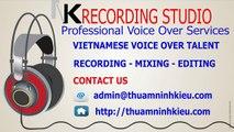 Vietnamese Voice Over Talent - Tu Nhi - NK Recording Studio - Male or female voice recording Vietnam