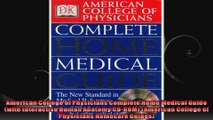 American College of Physicians Complete Home Medical Guide with Interactive Human Anatomy