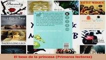 PDF Download  El beso de la princesa Primeros lectores Download Full Ebook