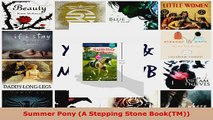 Read  Summer Pony A Stepping Stone BookTM Ebook Free