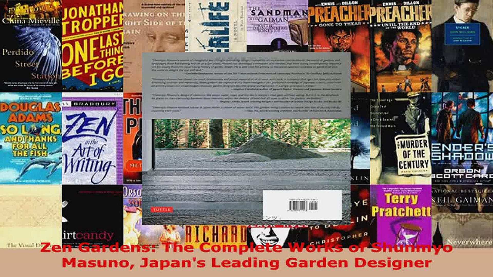 Read  Zen Gardens The Complete Works of Shunmyo Masuno Japans Leading Garden Designer Ebook Free