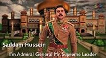 Osama Bin Laden vs Saddam Hussein Rap Battle(videoming.in)