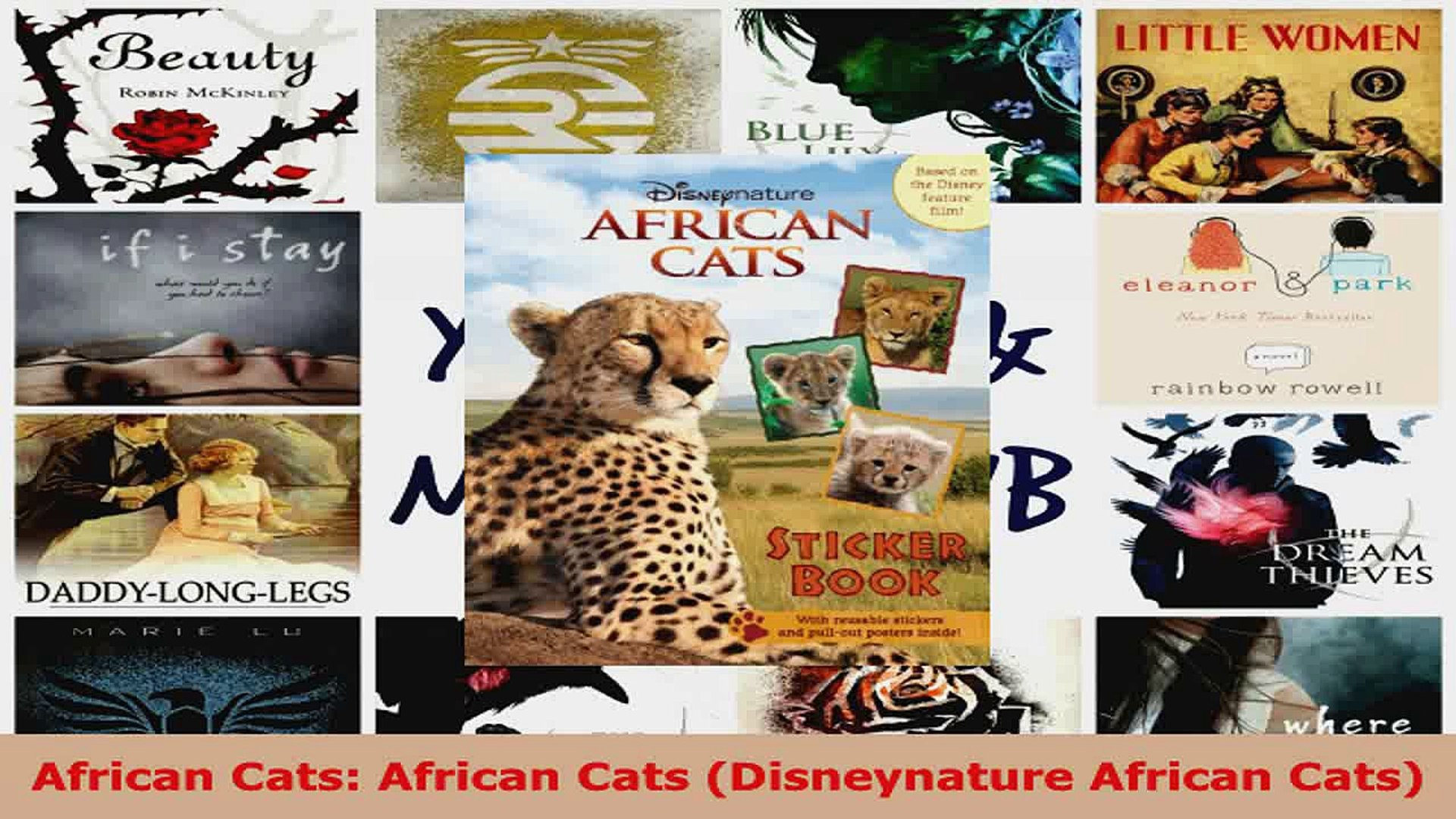 Read  African Cats African Cats Disneynature African Cats EBooks Online
