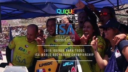 CHAMPIONNATS DU MONDE DE BODYBOARD - CHILI 2015