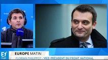 """Florian Philippot :""""Il ne reste plus grand chose du PS et c'est une bonne chose !"""""""