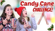 NEW CHANNEL + Candy Cane Challenge   Brooklyn & Bailey