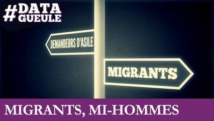 Migrants, mi-hommes #DATAGUEULE 52