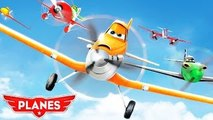 Disneys PLANES Racing! Dusty Extreme Race vs Bravo and more Disney Planes! Super Fun Vide