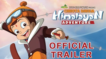 Chhota Bheem Himalayan Adventure Official Trailer | In Cinemas 8th January