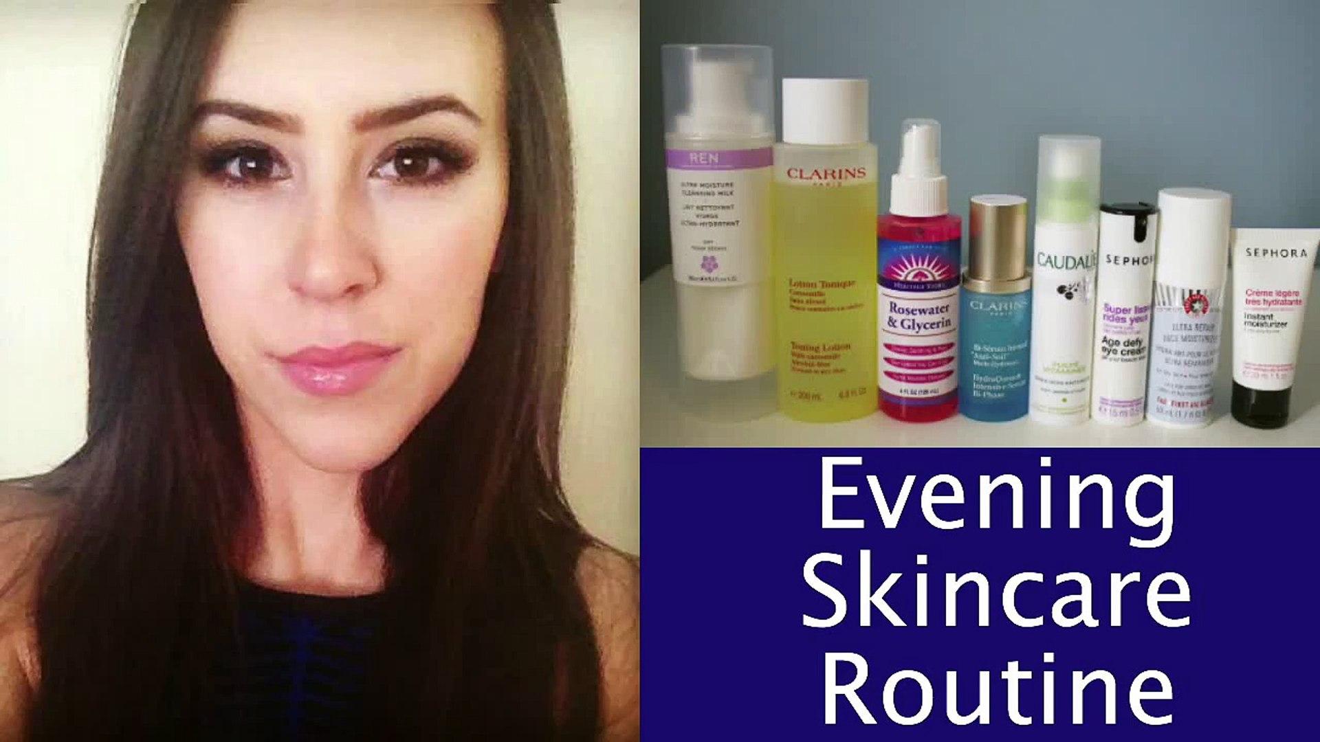 Skincare Routine (Evening): Very Dry Sensitive Skin 2014